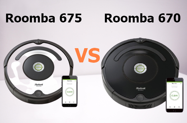 Irobot Roomba 675 Vs 670 Best Reviews Comparison 2020